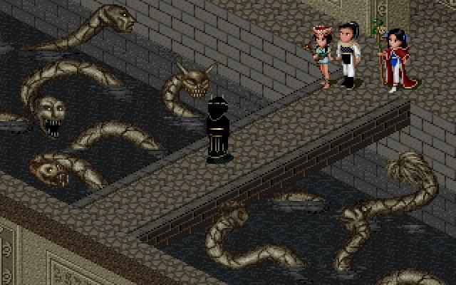 仙剑奇侠传DOS