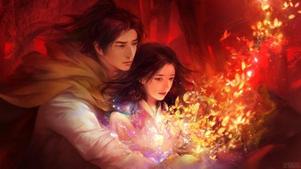 心在焚烧的仙剑同人CG